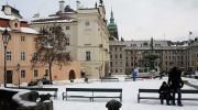 Прага зимой. Малая Страна